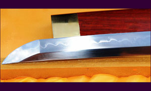 Японский меч Ryan Clay Tempered Rosewood Shirasaya Sowrd