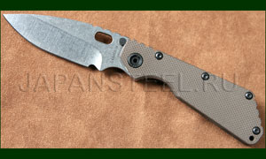 Нож складной Strider SMF 3/4 Coyote Brown Flamed Frame S30V SW