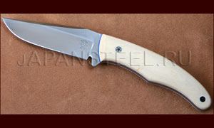 Нож туристический Tom Krein Vagabond D2 Antique Ivory Micarta