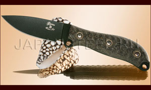 Нож туристический Busse Green Active Duty Custom Shop