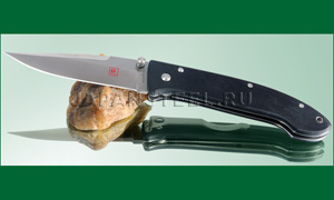 Нож складной Seki Cut SC101 BobLum Encounter Folders Black G10 Handles