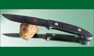 Нож туристический Seki Cut SC-111B Bob  Lum  Fixed  Blade Black Encounter